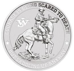 John Wayne, 1 dollár, ezüst, Tuvalu, 2021
