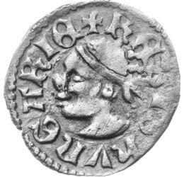 Nagy Lajos különleges dénárja, dénár, ezüst, Magyar Királyság, 1342-1382
