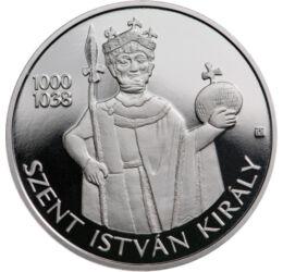 15000 forint, Szent István,Ag999,2021, Magyarország