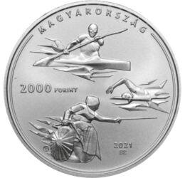 2000 forint, Nyári Olimpia, CuNi,2021, Magyarország