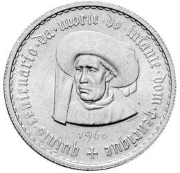 5 escudo, Tengerész Henrik, 1960, Portugália