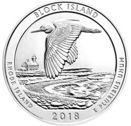 25 cent, , CuNi, 5,67 g, USA, 2018