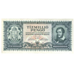 10 millió pengő, 1945, Magyar Királyság