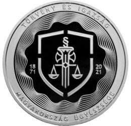 10000 Ft, Ügyészség, Ag, 2021, Magyarország