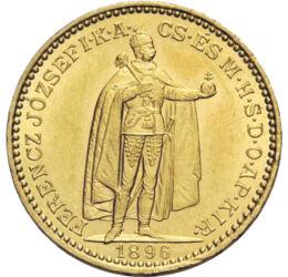 20 korona, arany, Ferenc J.,1892-1915, Osztrák-Magyar Monarchia
