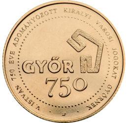 750 Ft, Győr, CuNi, 2021, Magyarország