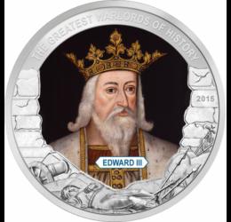 III. Eduárd, angol király, 1 dollár, Palau, 2015
