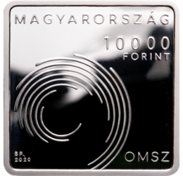 Országos Meteorológiai Szolgálat, 10000 forint, ezüst, 2020
