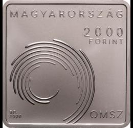Országos Meteorológiai Szolgálat, 2000 forint, CuNi, 2020