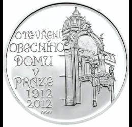 200 Kč, Prága repr. háza,ez,pp,2012 Cseh Köztársaság