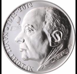 200 Kč, Kamil Lhoták, ezüst,pp,2012 Cseh Köztársaság