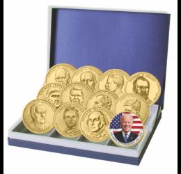 Az USA elnökei dollárérméken, a teljes gyűjtemény!