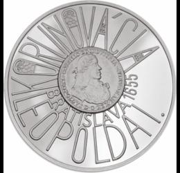Koronázás Pozsonyban, 200 korona, 900-as ezüst, Szlovákia, 2005