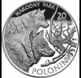 20 euro, NP Poloniny, Ag, 2010, pp Szlovákia