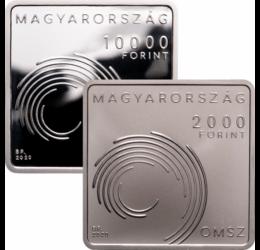 Országos Meteorológiai Szolgálat, 2000 és 10000 forint, 2020 - szettben