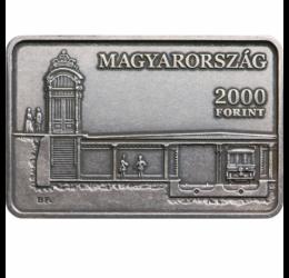 2000 forint, Mil.Földalatti,CuNi,2021 Magyarország
