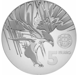Parlagi sas – Nemzeti szimbólum, 5 euró, 2018, Portugália