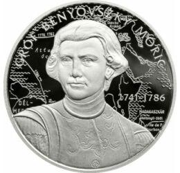 10000 forint, Benyovszky Móric, 925-ös ezüst, Magyarország, 2021