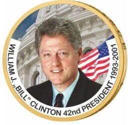 1 dollár, Bill Clinton - az USA 42. elnöke, CuNi, USA