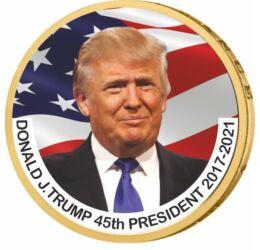 1 dollár, Donald J. Trump - az USA 45. elnöke, CuNi, USA