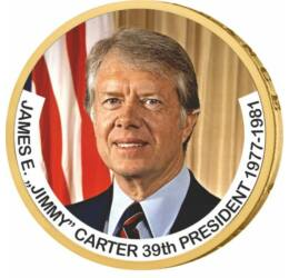 1 dollár, Jimmy Carter - az USA 39. elnöke, CuNi, USA