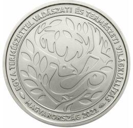 2000 forint, Vadászati Világkiállítás, réz-nikkel, Magyarország, 2021