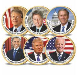1 dollár, Hiányzó elnöki dollárok szettben, CuNi, 2007-2020, USA
