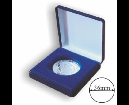 Egyfészkes doboz (érme átmérő 36 mm)
