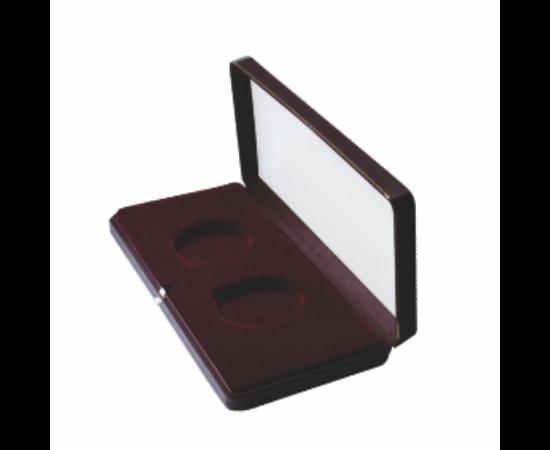 Többfészkes doboz (bordó, 2 fészkes)