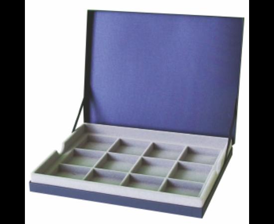 IPRACTIC Tárolókazetta 12 rekeszes doboz, kék