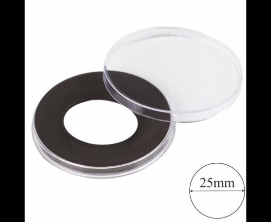Magas kapszulák gyűrűvel (érme átmérő 25 mm)