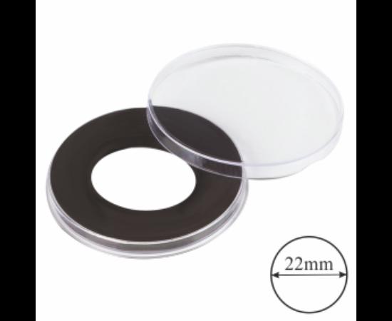 Kapszulák gyűrűvel (érme átmérő 22 mm)