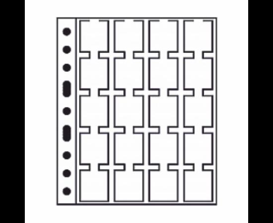 GRANDE album lapok20 (érmekarton, 50x50 mm)