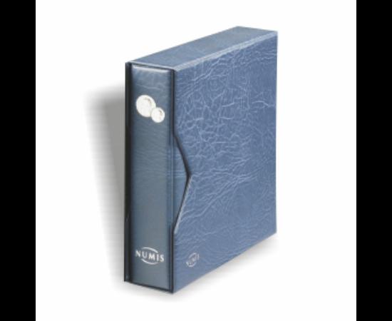 NUMIS érme album védőkazettával(kék)