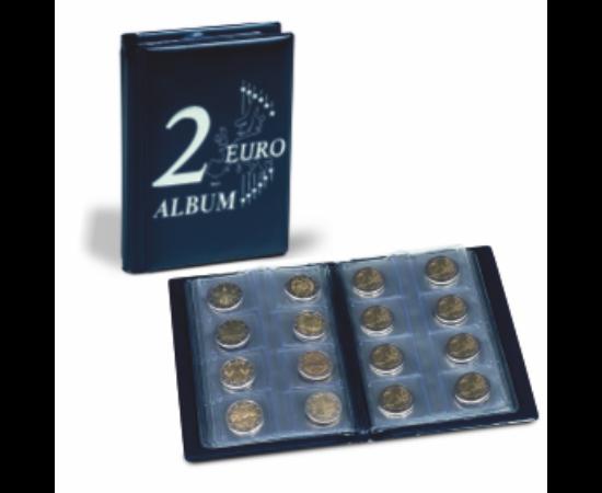 Érme-zsebalbum 2 euró érmékhez