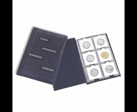 Érme-zsebalbum – 60 érmetartó kartonnak