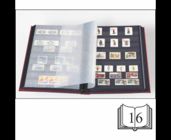 BASIC Bélyegalbum 16 oldalas