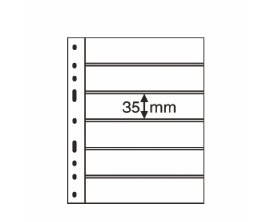 OPTIMA bélyeg lap   Bélyegek, 6 csík