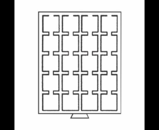 Érmetároló tálcák 20 x (érme átmérő 50 mm) QUADRUM kapszuláknak