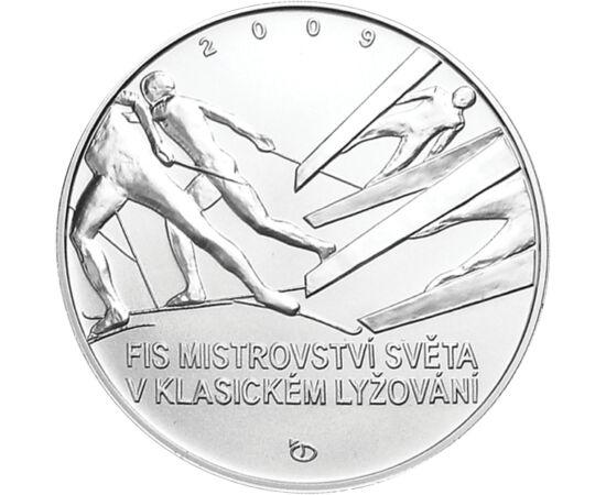 // 200 korona, 900-as ezüst, Csehország, 2009 // - 2009-ben a csehországi Liberec adott otthont az északi sí világbajnokságnak. Ebben az évben már 20 versenyszámban küzdhettek meg a sportolók a legfényesebb érmekért. Az esemény tiszteletére 10 évvel ezelő