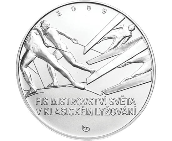 200 Kč, Sí vb. Liberec, ez, 2009,pp Csehország