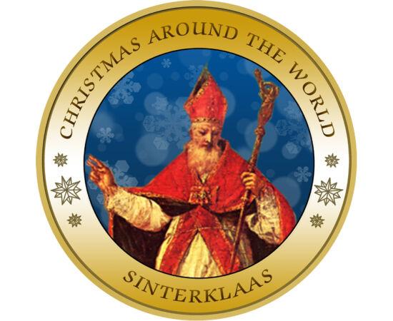 // 50 pennia, Finnország, 1963-1990 // - Hét érmén összegyűjtöttük, hogy országonként, népenként a gyerekek és mi, gyereklelkű felnőttek karácsonykor kitől várjuk az ajándékot, kik hozzák el nekünk a legszebb ünnepet. A festett eredeti finn érmék is azt i