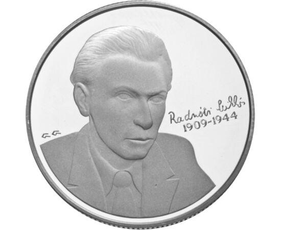 // 5000 forint, 925-ös ezüst, Magyar Köztársaság, 2009 // - Radnóti Miklós születésének 100. évfordulójára jelent meg ez az emlékérme 2009-ben. A modern magyar líra mesterének tartott költő csupán 35 évet élt. A munkaszolgálatban írt bori noteszben olyan