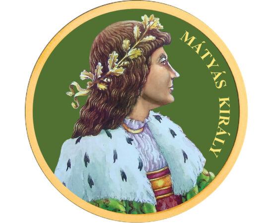 // 50 cent, Európai Unió, 2002-2019 // - Mátyás király 32 éven keresztül uralkodott, és ez alatt az idő alatt az ország a tudomány és a művészetek reneszánsz fellegvára lett. Az uralkodó világszerte híres könyvtárat hozott létre és számos iskolát alapítot