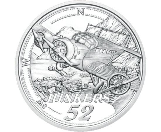 // 20 euró, 925-ös ezüst, Ausztria, 2019 // - Az emberiség a történelem kezdetek óta próbálta meghódítani az égboltot. Az lmúlt évszázad hozta meg az áttörrést. 1927-ben Charles Lindbergh elsőként repülte át egyedül az Atlanti-óceánt, illetve Igo Etrich A