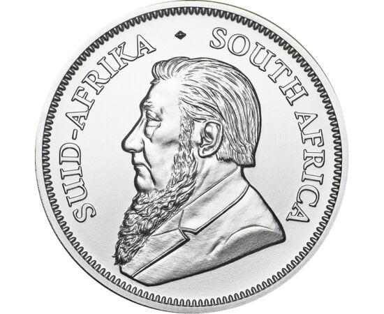 // krugerrand, 999-es ezüst, Dél-Afrika, 2020 // - A befektetői aranyként már jól ismert Krugerrand érme 2017-ben jelent meg először az egy unciás befektetői ezüstök piacán. A várt siker nem maradt el, azonnal népszerű lett. Mivel az érmén az évszám mindi