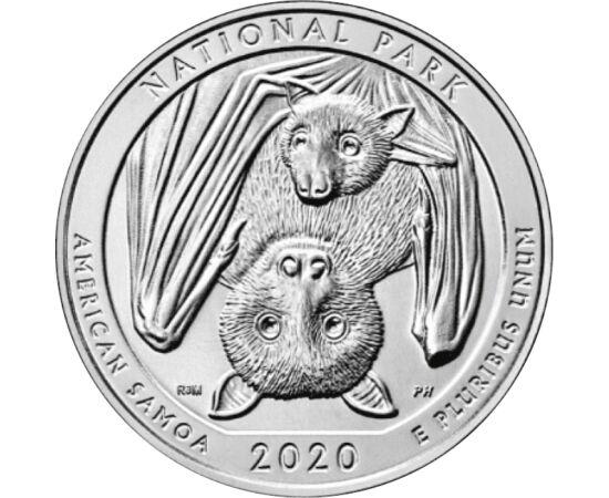 25 cent Amerikai Szamoa NP USA