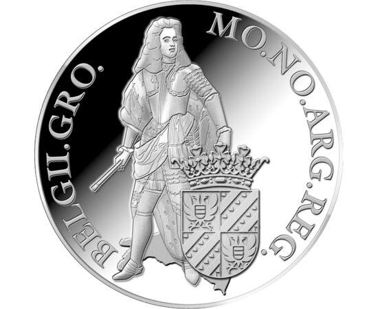 // 1 dukát, 873-as ezüst, Hollandia, 2018 // - A hollandok rendszeresítették kereskedelmi elszámolásaikhoz a XVII-XIX. században. A 28,25 gramm súlyú, 873 ezrelék tisztaságú ezüst érme neve groningen volt, és 50 holland stuyvert ért. A holland verde erede