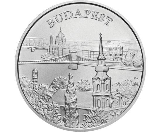 // 5000 forint, 925-ös ezüst, Magyar Köztársaság, 2009 // - A Világörökség magyarországi helyszíneit felvonultató sorozat 2009 évi kibocsátása a budapesti helyszíneket örökítette meg egy gyönyörű ezüst érmén. Az érme előlapján az Andrássy út, hátlapján pe