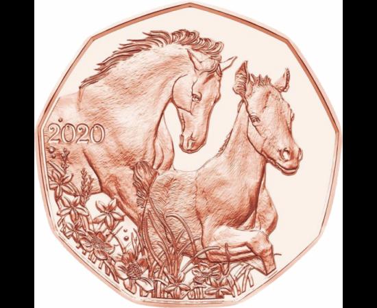 // 5 euró, Ausztria, 2020 // - Immár hagyomány, hogy az Osztrák Pénzverde Húsvétra emlékpénzt bocsát ki. 2016-ban Dürer Nyúl rézkarca, 2017-ben egy bárány, 2018-ban egy bájos kisnyúl került az érmére, a tavalyi izgalmas érmén a nyúl mögött a veret hiánya